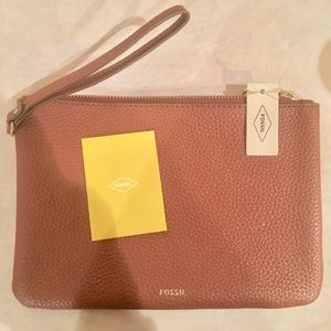 Fossil Fiona Multifunction Women's Leather Clutch
